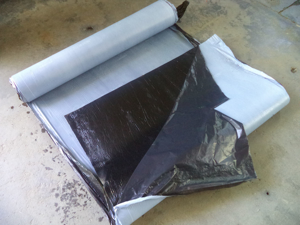 Self Adhesive Bitumen Waterproofing Membrane for Roof Underlayemnt, Roof Felt, Basment 1.2mm-4.0mm