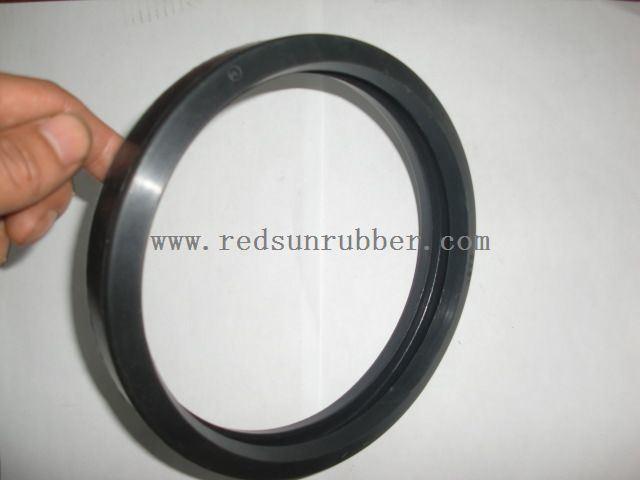 Heat resistant gasket strip