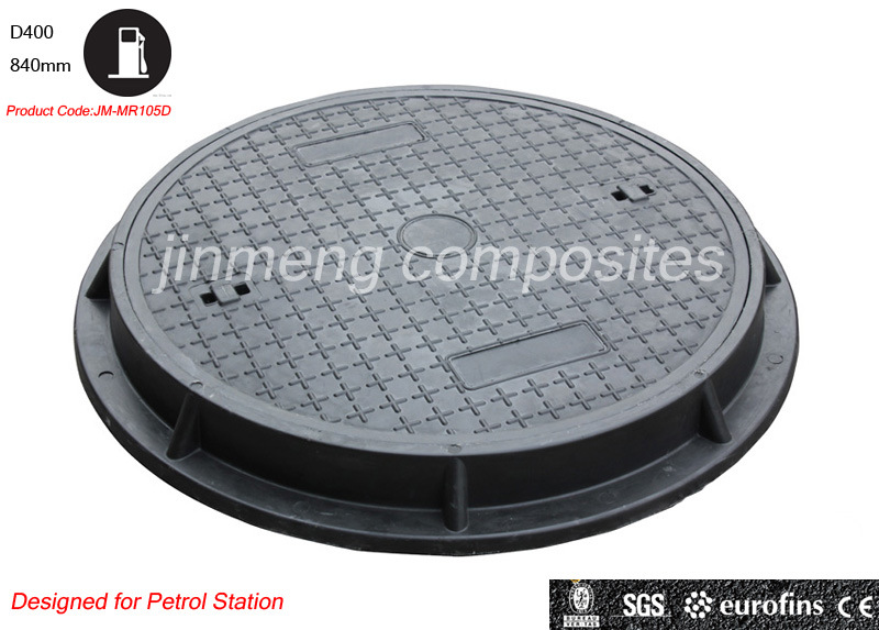 Jm-Mr105D En124 D400 900mm Petrol Manhole Cover/Gas Meter Cover/Gas Station Manhole Cover