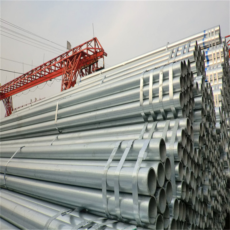 Galvanized Steel Tube for Fluid Transportation
