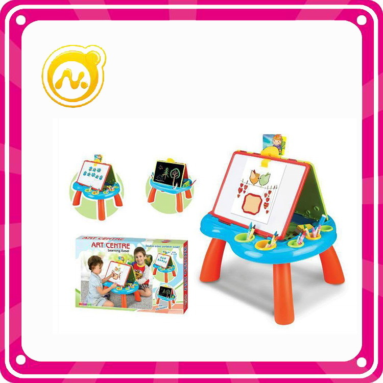 Plastic Multifunctional Learning Table Children Educational Toy