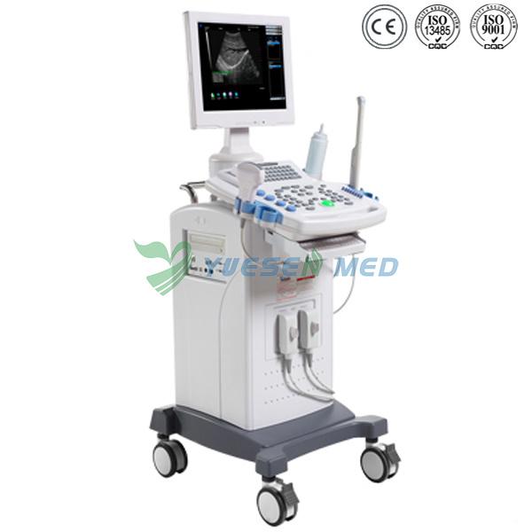 Ysb9618c Medical B/W Trolley 2D Ultrasound