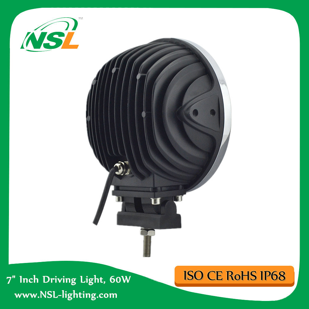 Auto LED Work Light CREE LED Driving Lamp 7 Inch 60W