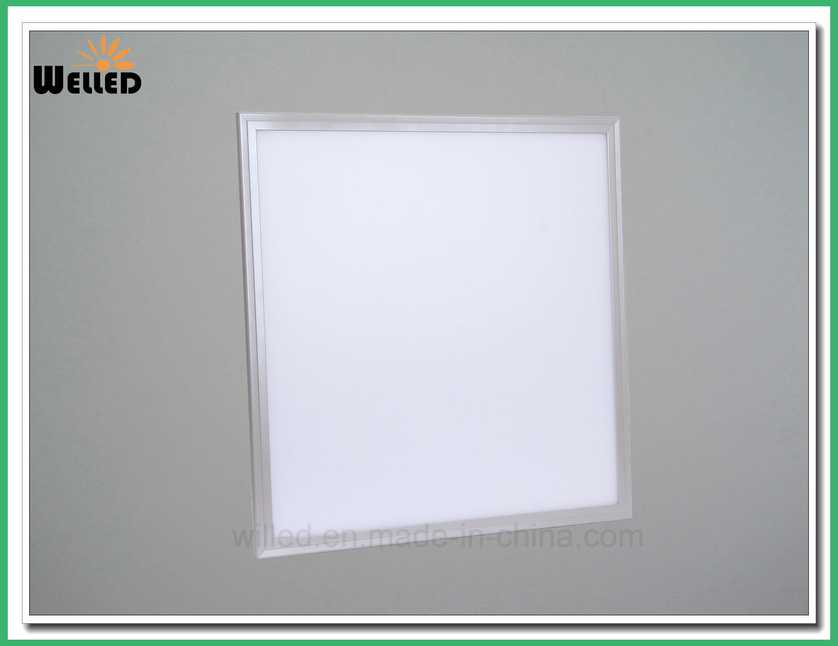 600X600mm 2X2FT Recessed LED Panel Light 40W 100lm/W
