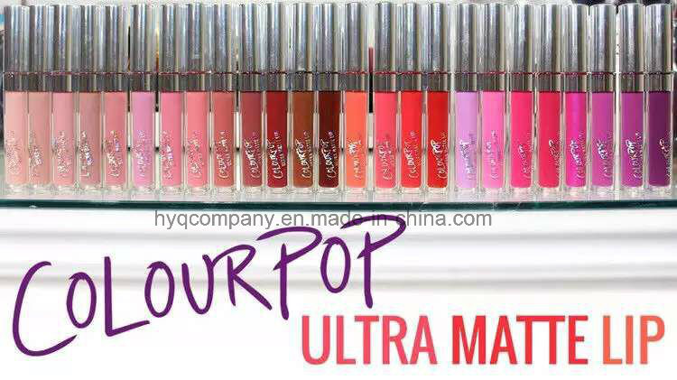 2016 Hot Sale Lipsticks Colourpop Liquid Matte Lipgloss 12 Colors Lip Gloss