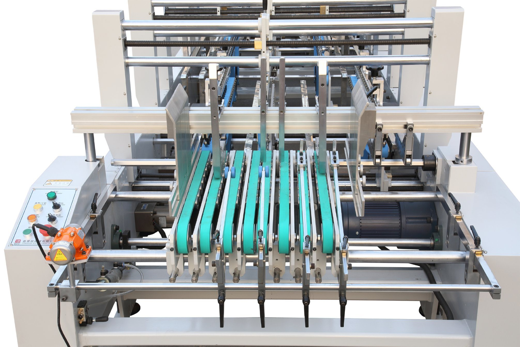 Xcs-1450 Efficiency Big Box Folder Gluer Machine