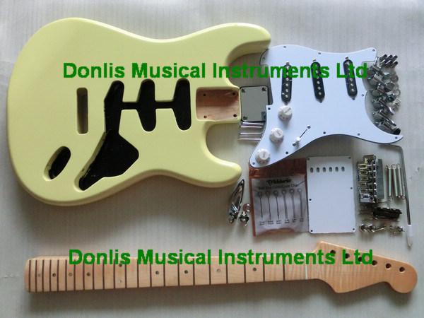 Strat Guitar Kit Custom Strat Guitar Kits-alder