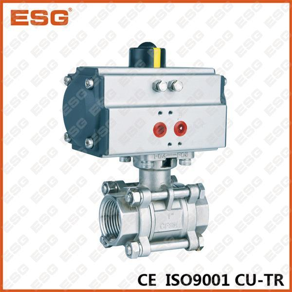 Esg Pneumatic Stainless Steel Ball Valve