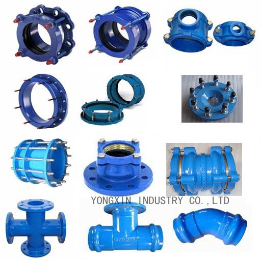 China ductile iron pipe fittings double flange