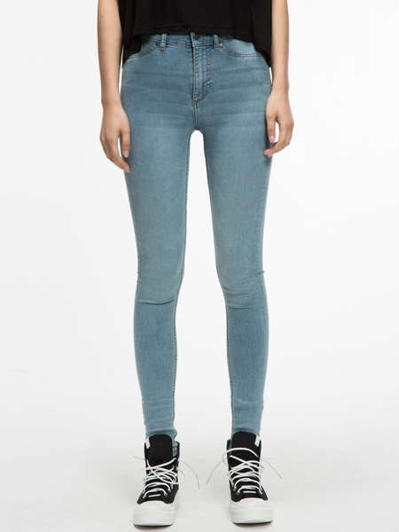 2017 Hot Sale Light Color Casual Ripped Jeans