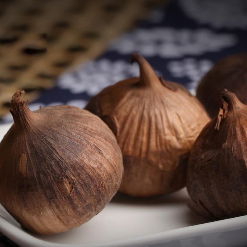 Good Taste Fermented Black Garlic 6 Cm Bulbs (250g/can)