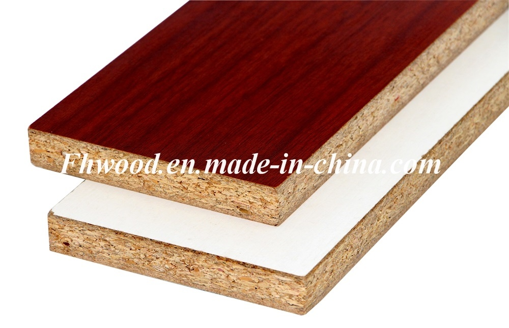 Decorative Both Sides Melamine Faced Particle Board