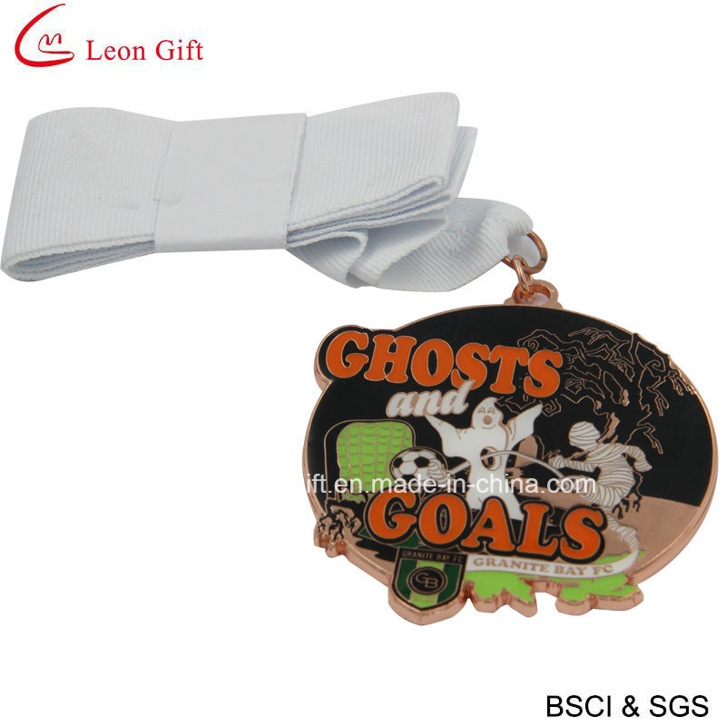 Custom Enamel Metal Sports Football Medal for Reach Goal (LM1051)
