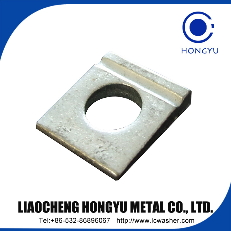Square Washers for Use in Timber Constructions