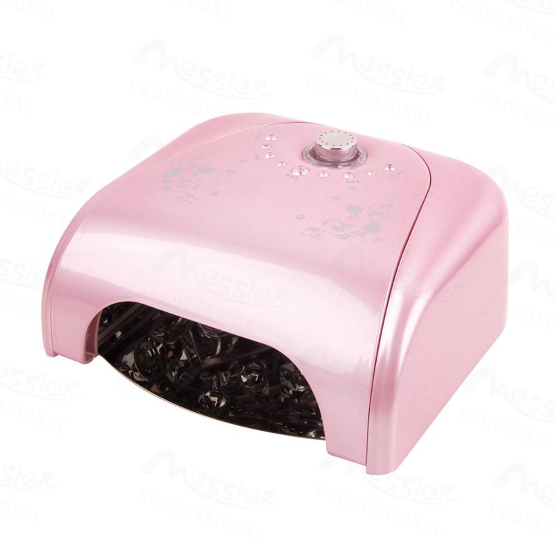 Nail Art Manciure Tools 36W Pink Colour LED Lamp for Soak off Gel Cure