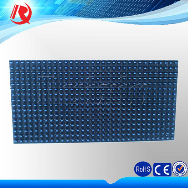 Waterproof IP65 Outdoor Semioutdoor Advertising Single Blue Color P10 LED Display Module