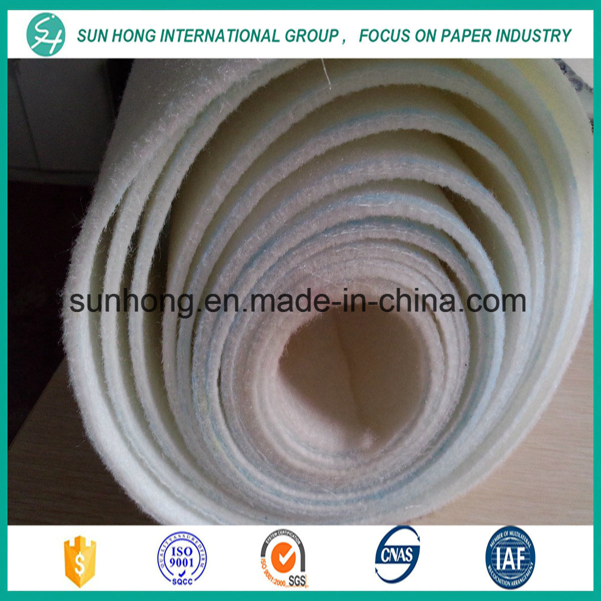 100% Synthetic Bob Felt for Forming /Press/Drying Section
