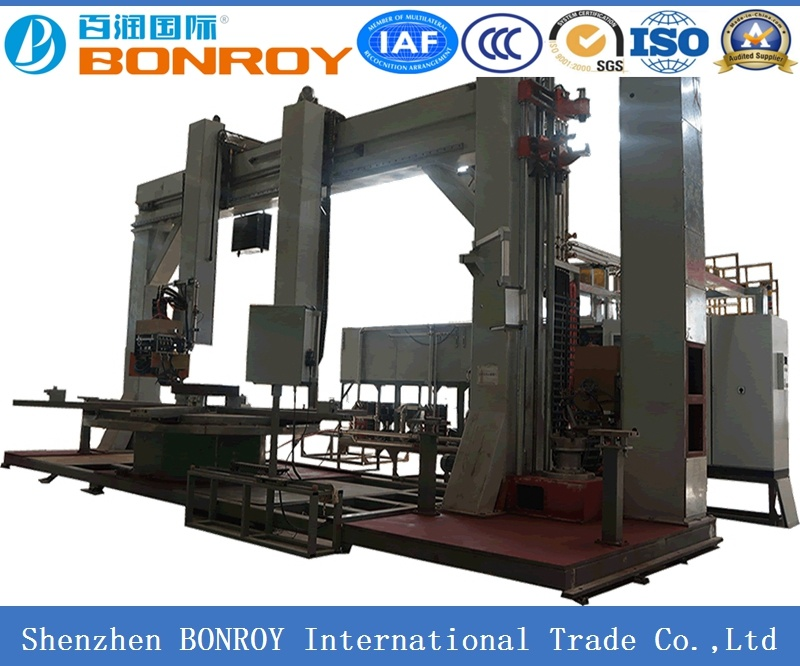 Grantry Integral Quenching Machine for Gear Ring with IGBT Power Supply