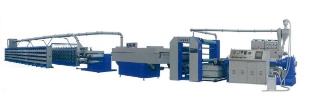 High Speed Flat Yarn Extruder Line Machine