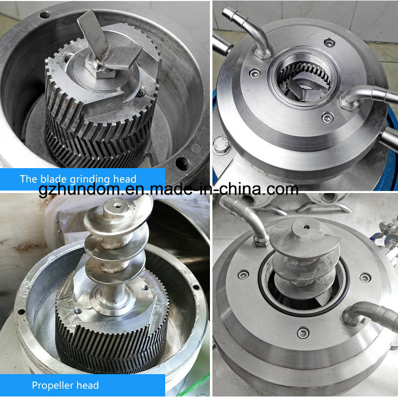 Stainless Steel Soy and Coconut Milk for Colloid Mill