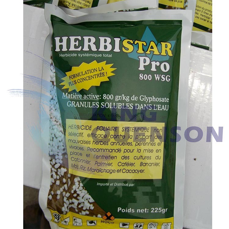 King Quenson Herbicide High Effective Supplier 95% Tc Glyphosate 80% Sp