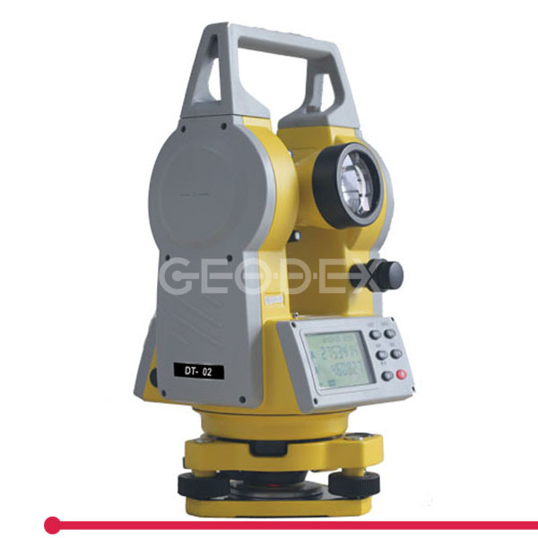 Measuring Instrument Dt-02L Laser Theodolite with 200m Upward Laser Pointer
