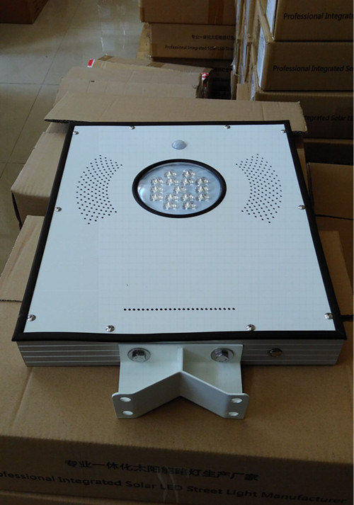 12W Solar Garden Light with PIR Sensor 3-4 Rainy Days Back up