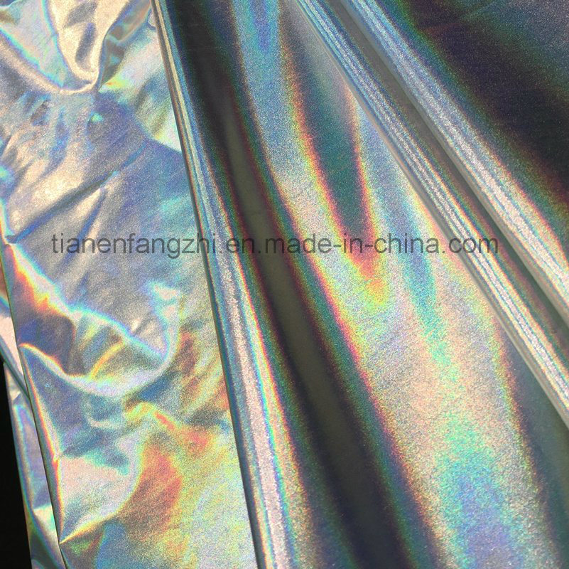2017 New Style Metallic Feel Fashion Polyester Fabric for Stage Clothing and Fashion Jackets