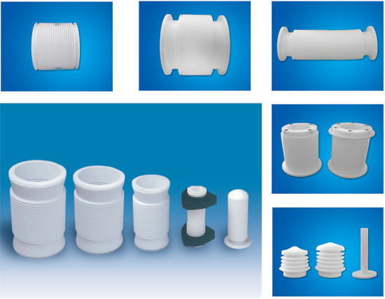 PTFE Corrugated Joints Plastic Products Teflon Tube