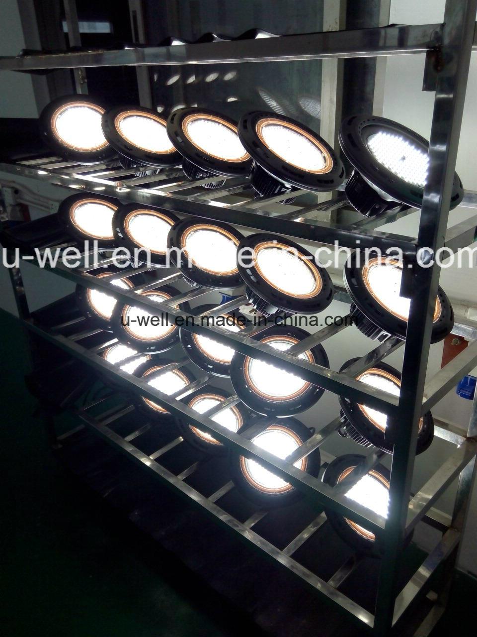 China Industrial UFO Highbay Lighting IP65 Waterproof 130lm/W 100W 160W 200W LED High Bay Light - China LED High Bay Light, UFO LED High Bay Light