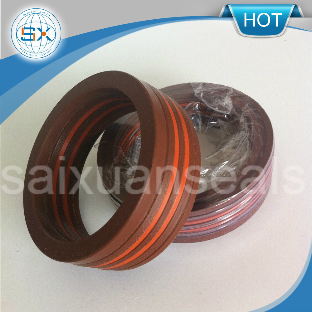V Shape Ring PTFE/ Viton/NBR Fiber Packing Machine V Packing Seal
