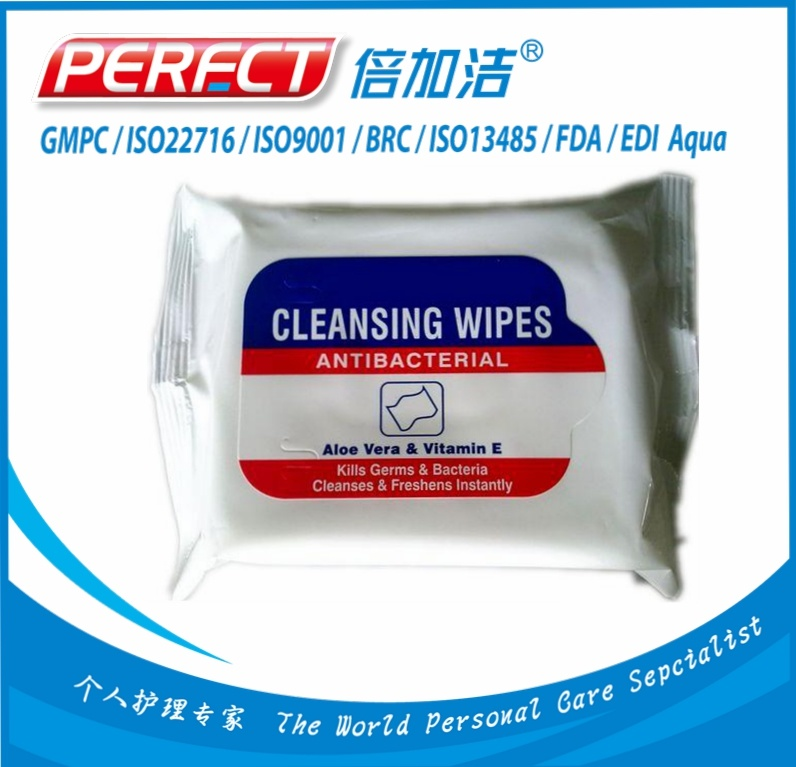 Antibacterial Hand Wet Wipes Manufacturer