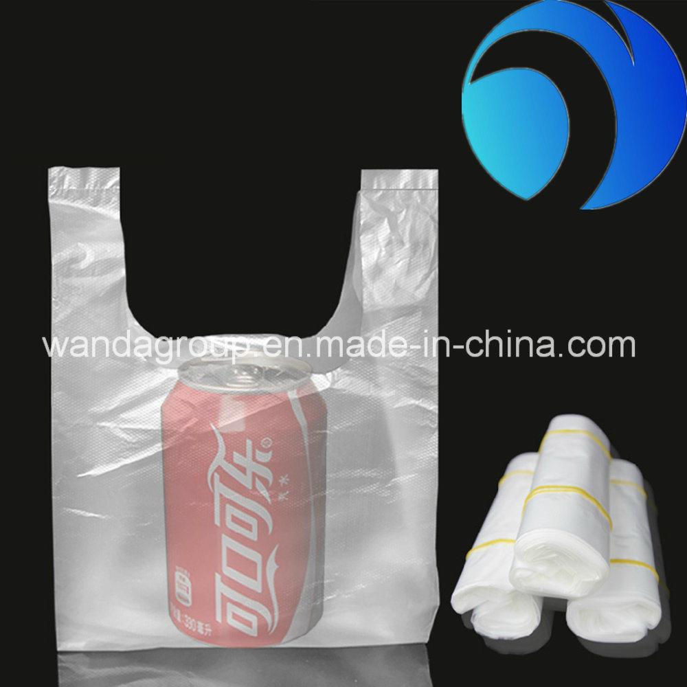 100% Virgin HDPE Colored Plastic T-Shirt Bag