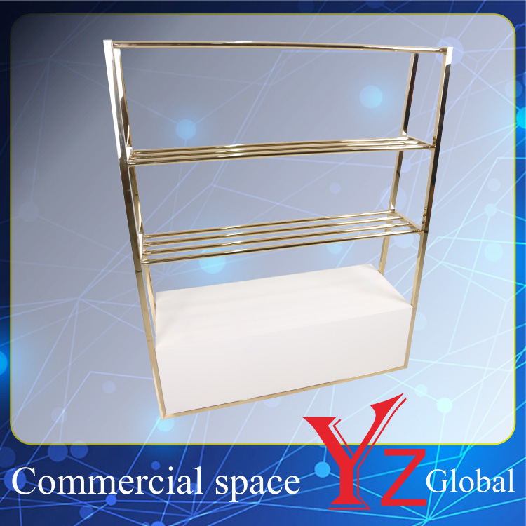 Display Rack (YZ161804) Stainless Steel Display Stand Display Shelf Display Case Display Hanger Rack Exhibition Rack Promotion Rack