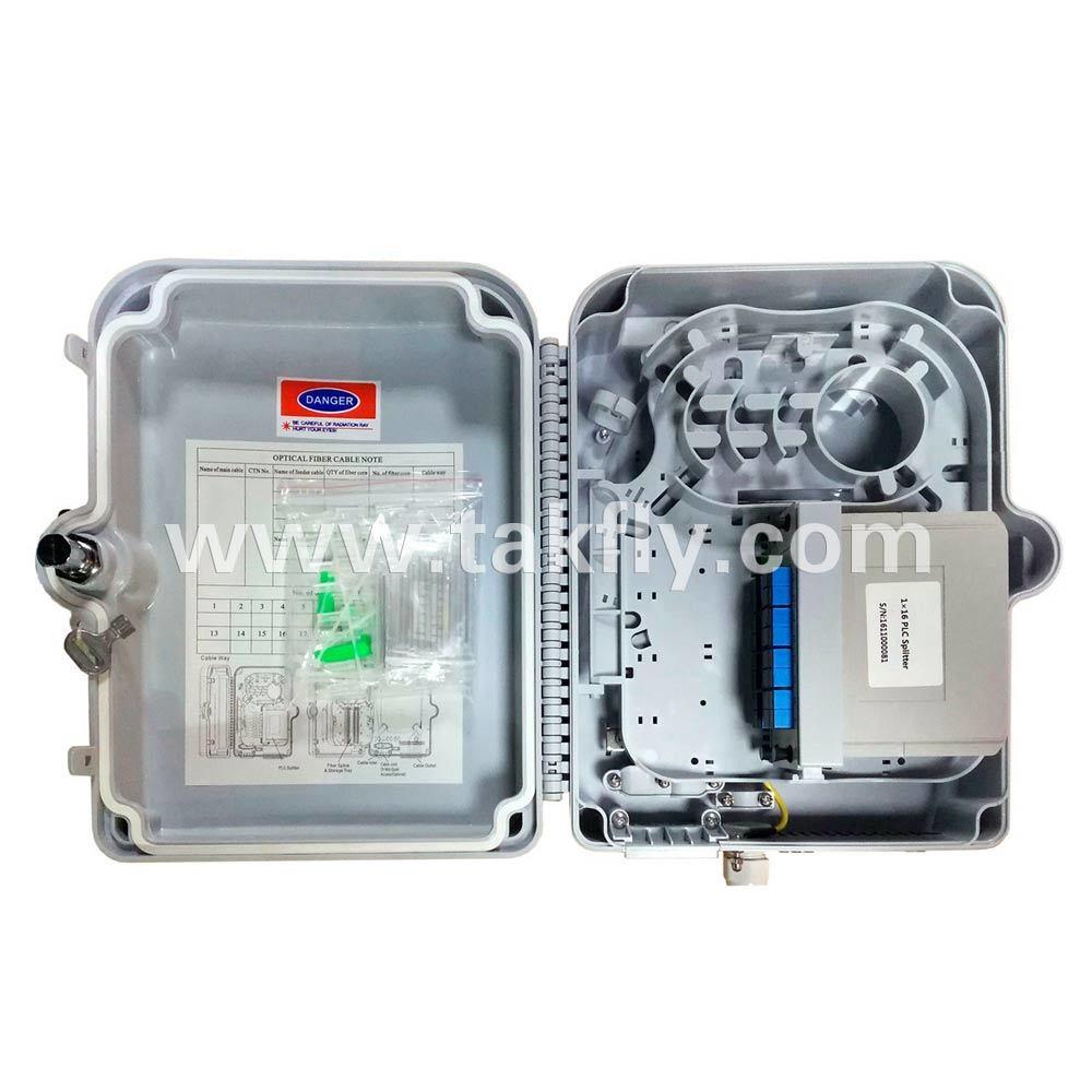 16 Cores Fiber Optic Terminal Box/Splitter Box/Splice Box/Distribution Box