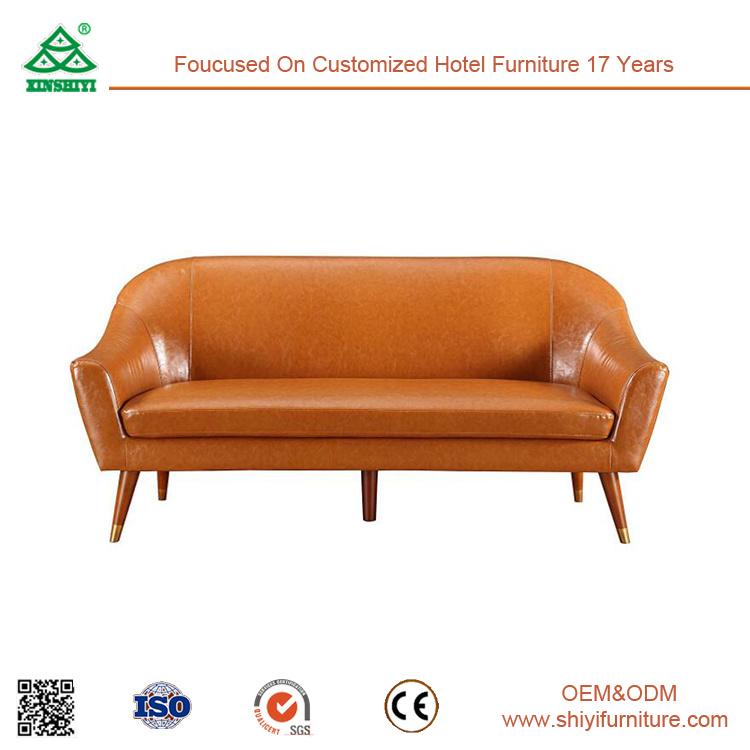 Customized Wooden Frame Leather Finishing