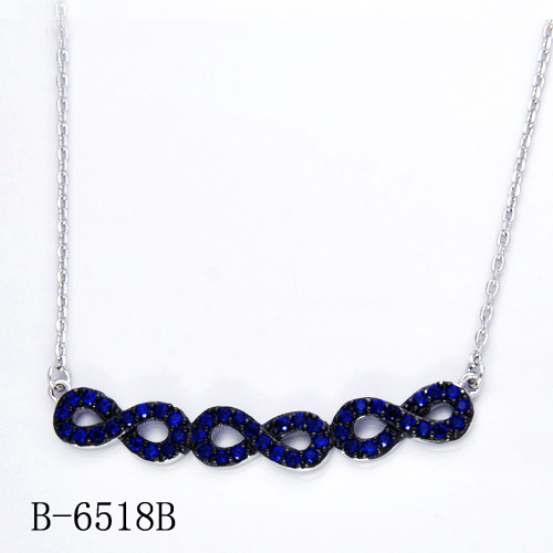 Hotsale 925 Sterling Silver Necklace Imitation Jewelry