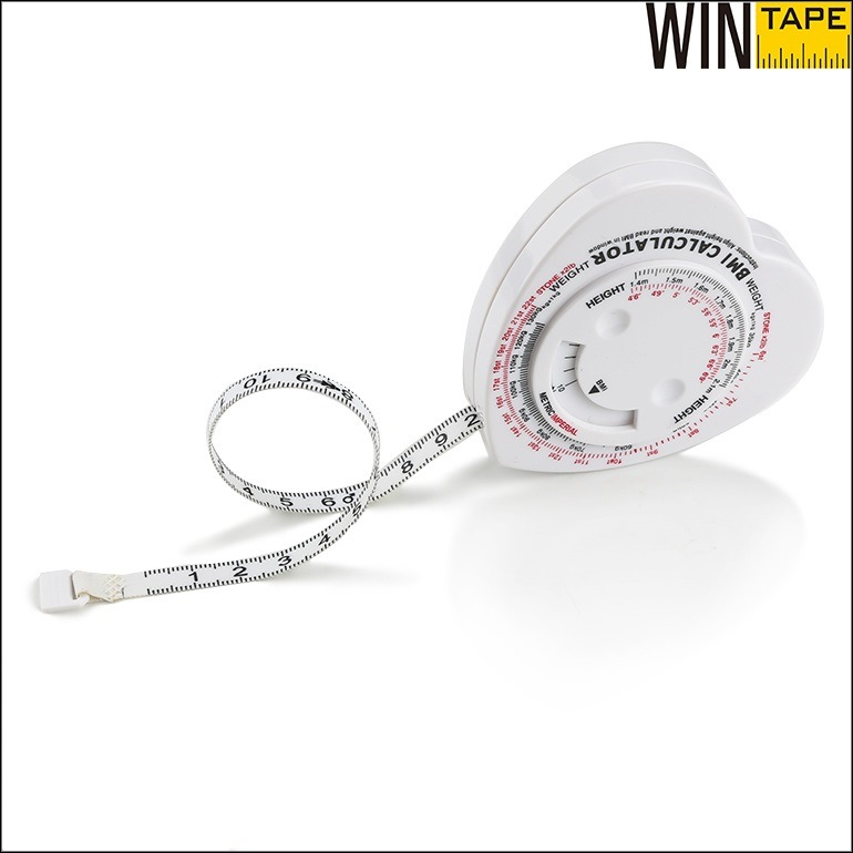 150cm Custom Healthy BMI Calculator Body Tape Measure (BMI-016)