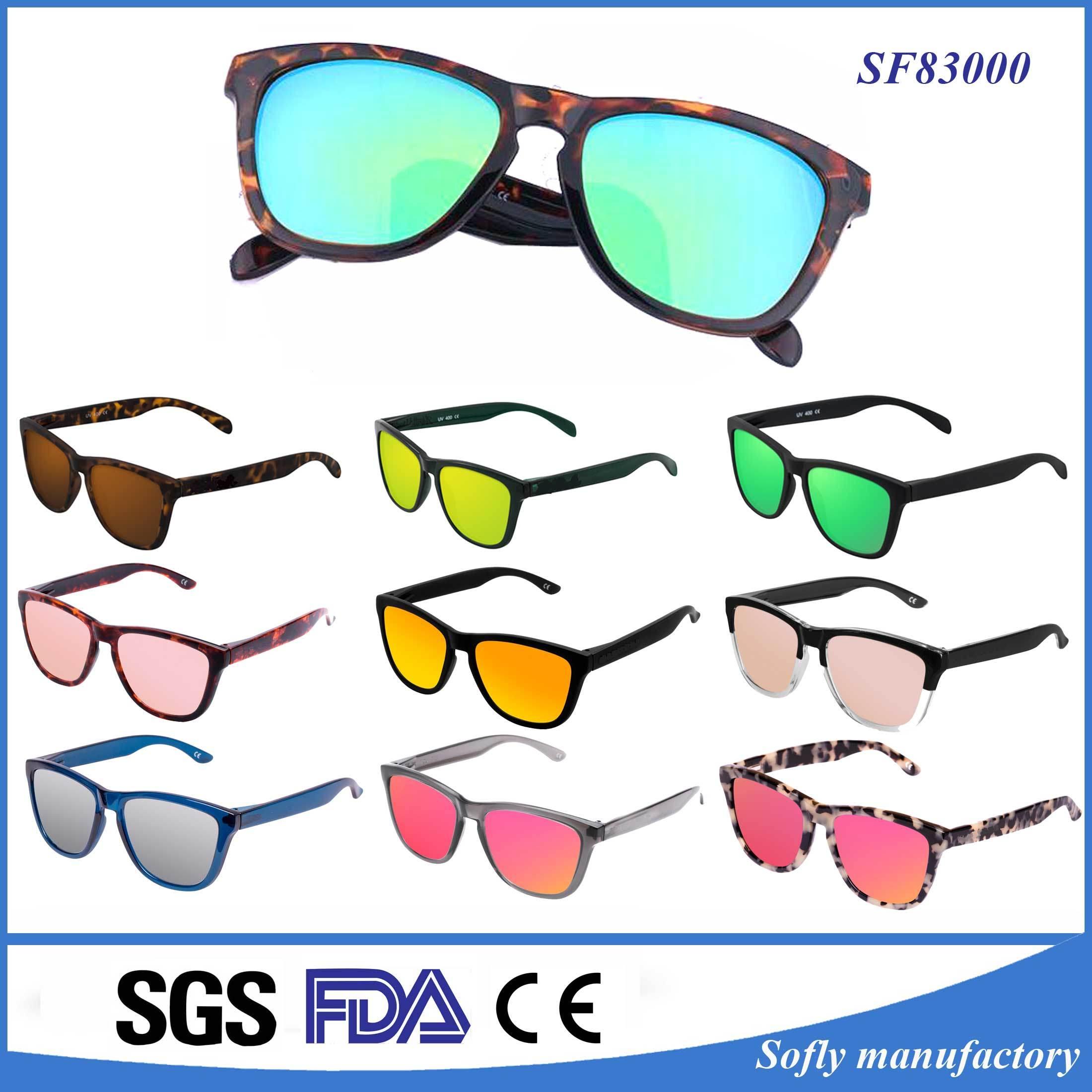 2017 Brands OEM Classical Eyewear UV400 Polarized PC Fashion Promotional Sunglasses Sale