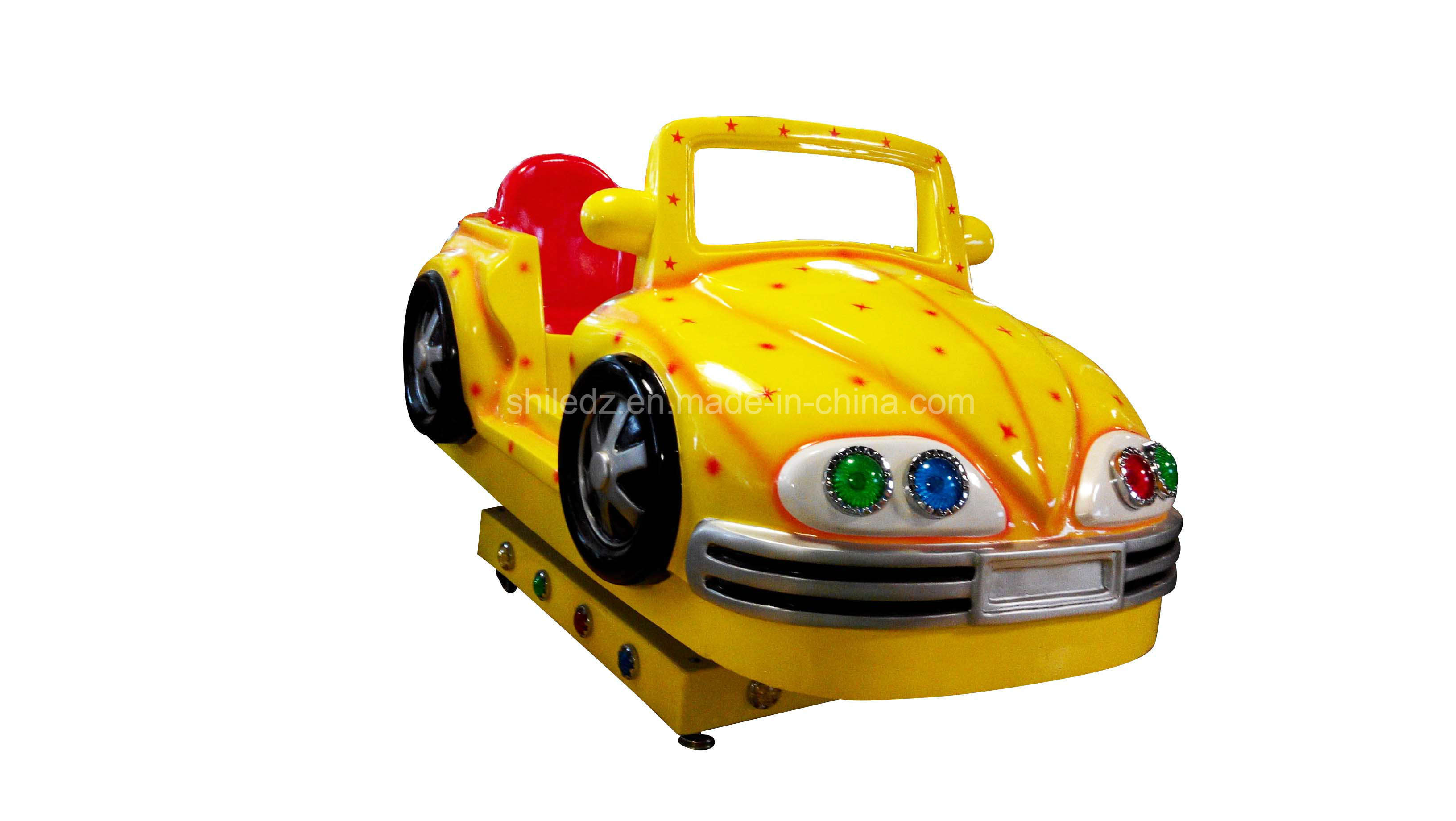 Indoor Family Racing Games 2 Players Racing Bumper Car for Small Business Swing Car