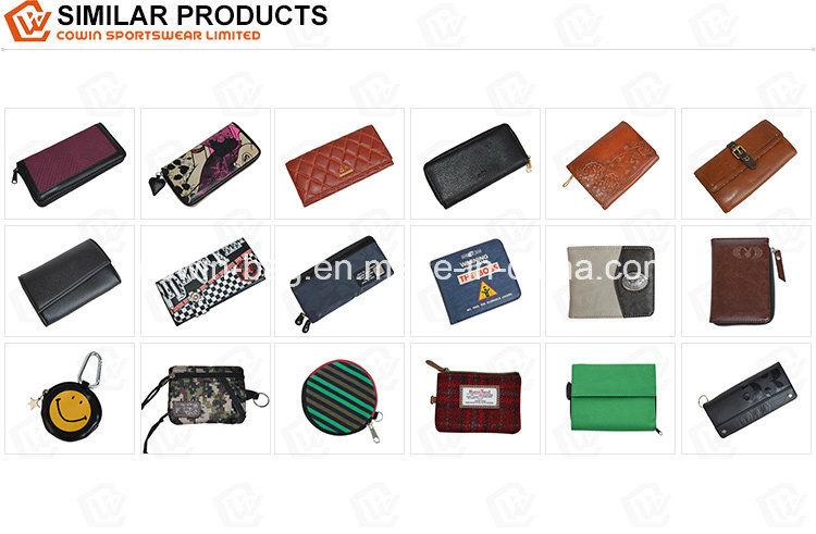 Custom Printed Zipper-Around Wallet Clutch Purse