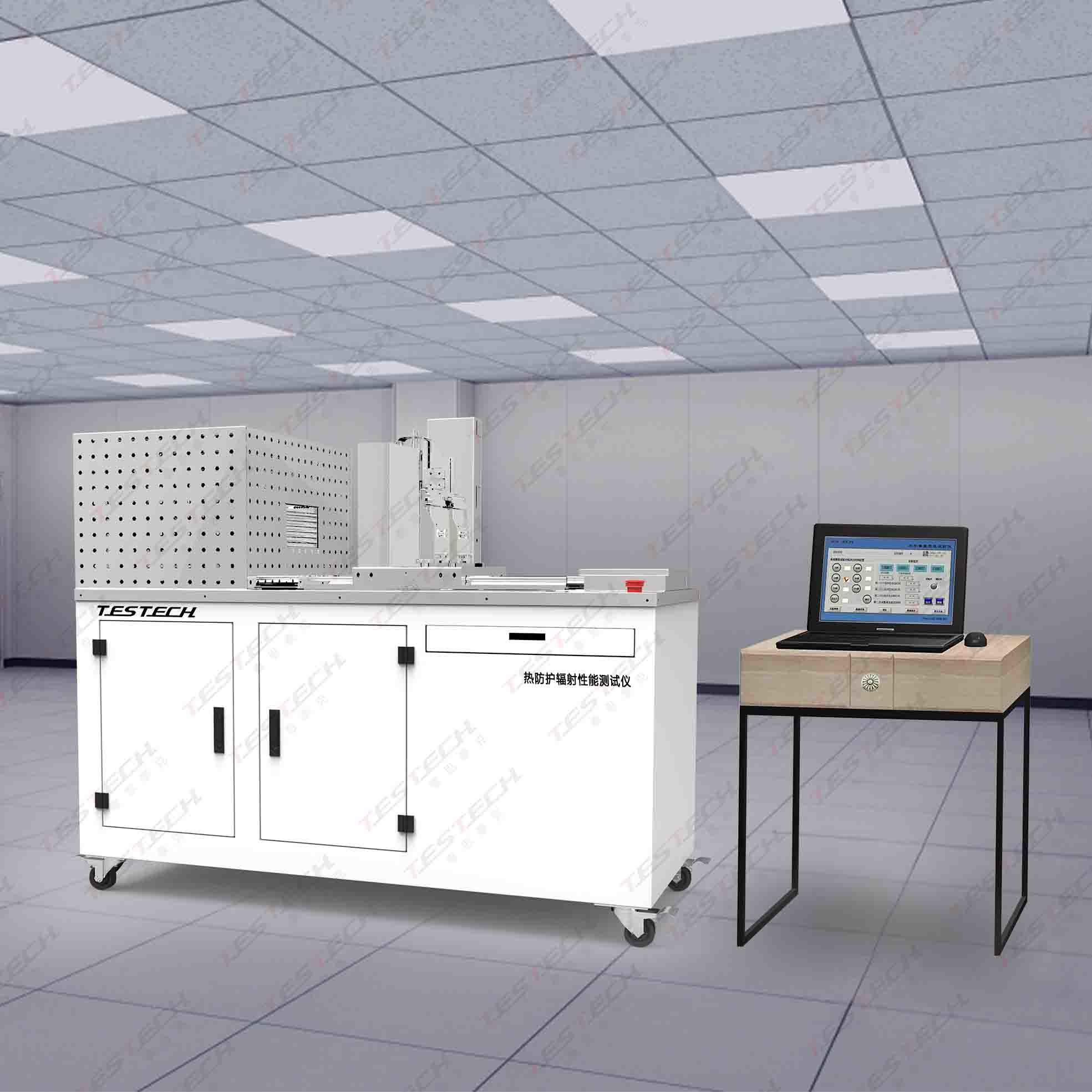 Thermal Protection (radiation) Performance Testing Machine, En 366 (FTech-ISO6942)