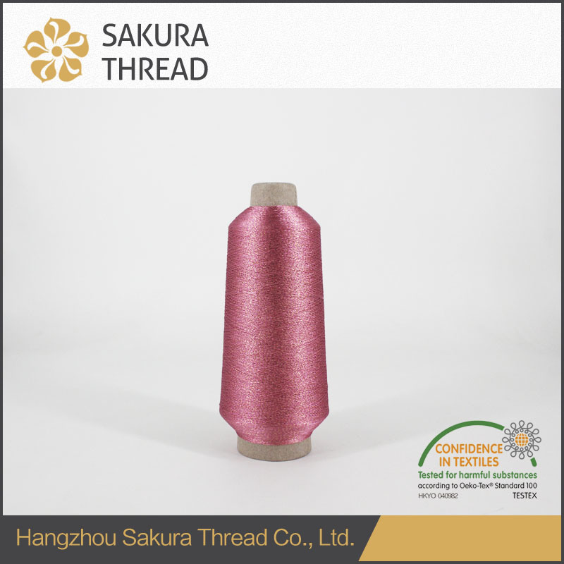 High Tenacity Metallic Embroidery Thread for Cloth Material Fabric