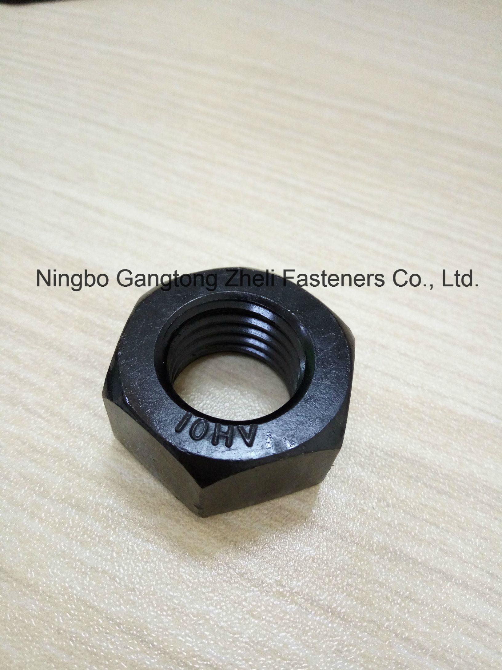 Black Finish DIN6915 10 Hv Nuts