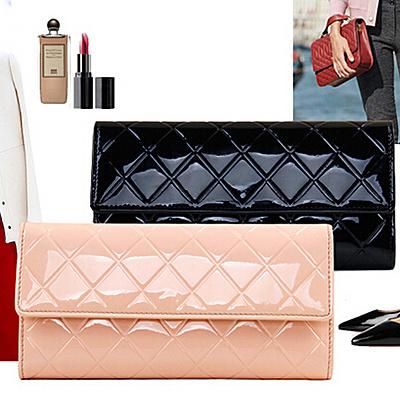 2017 Hot Design Leather Women Purses and Handbag Wallets Brand Name Clutch Bag (EMG4134)