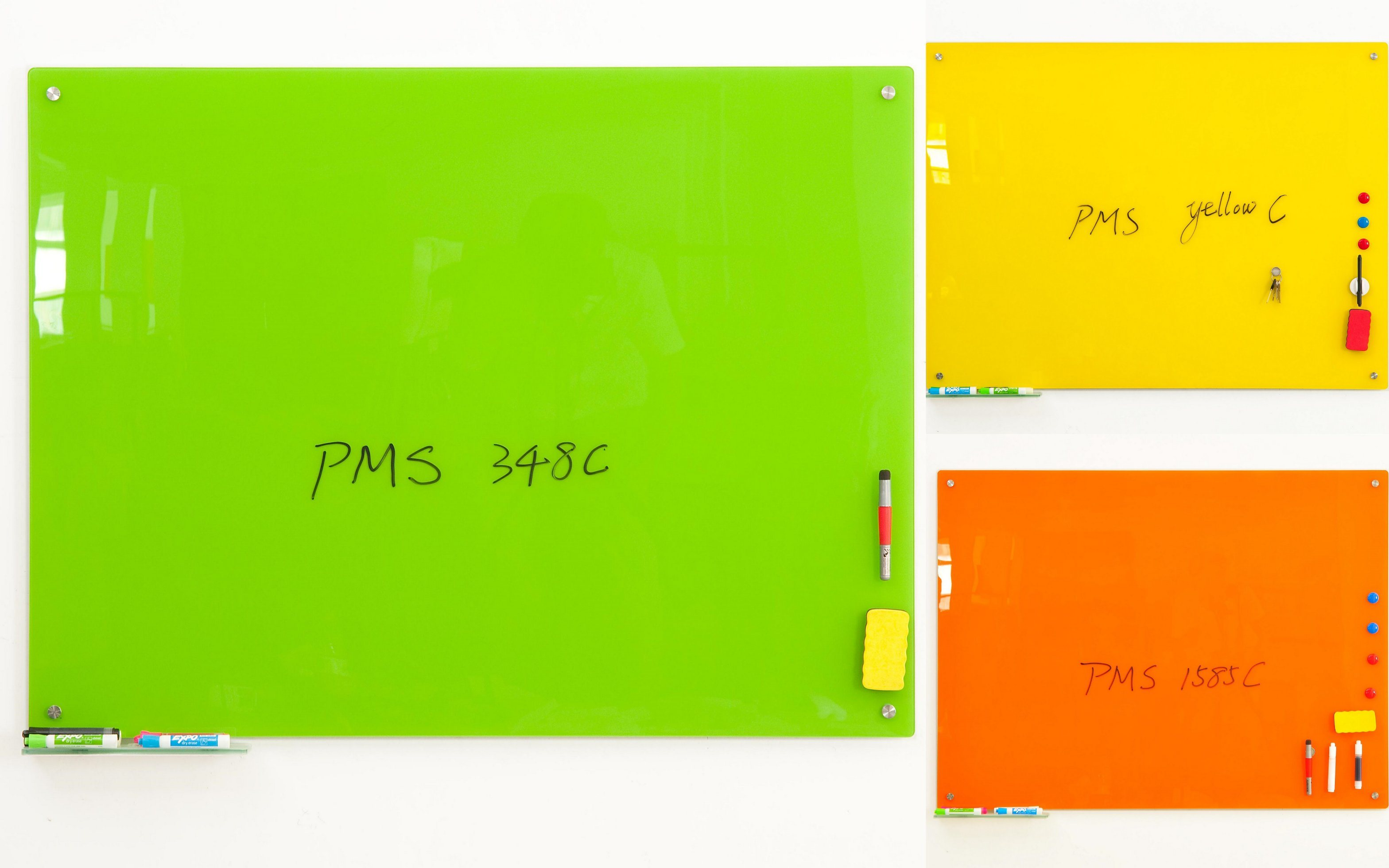 Dry Erase Interactive Magnetic Glass Memo Whiteboard with Ce, SGS, En71/72/73