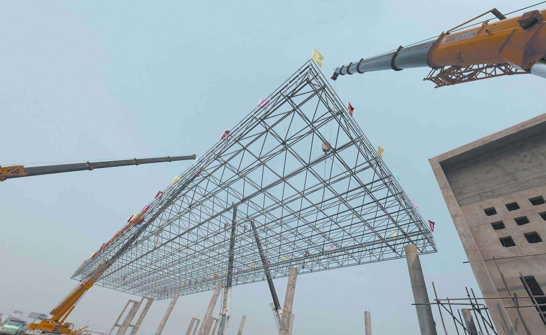 Industrial Steel Workshop / Prefabricated Steel Workshop