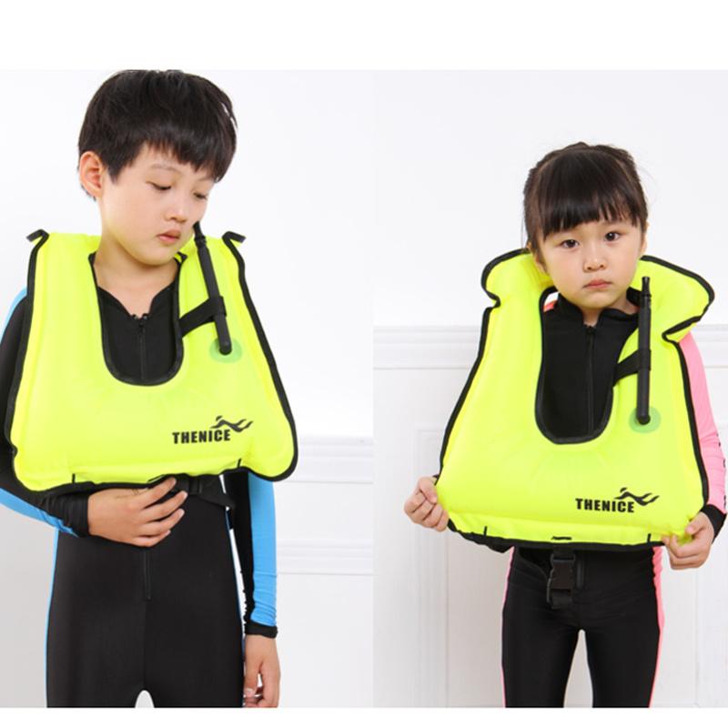 Portable Adult Kids Inflatable Life Vest