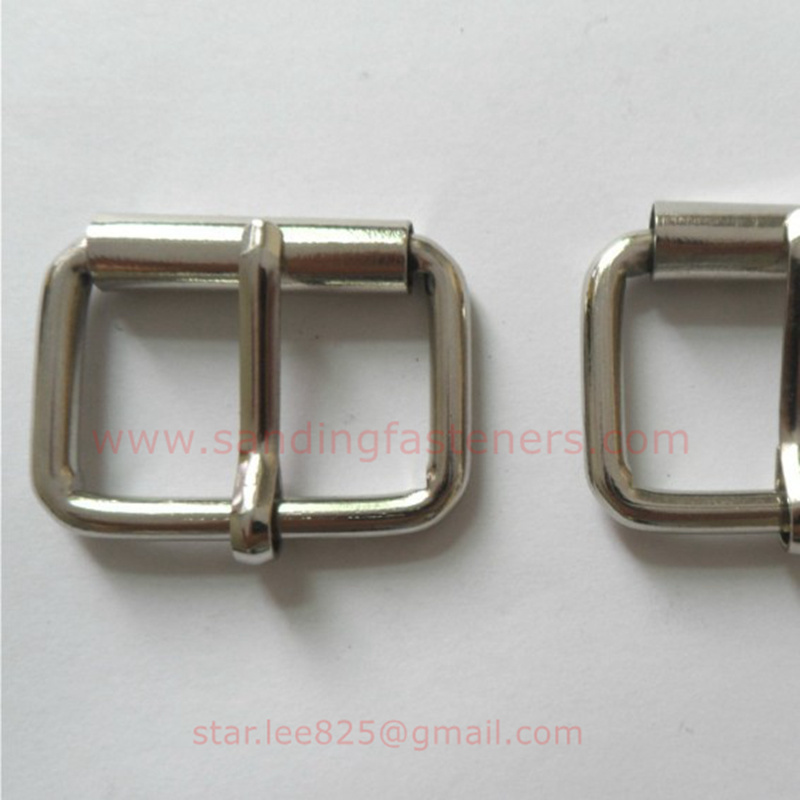 Metal Zinc Alloy Square Belt Buckle Hardware for Handbag