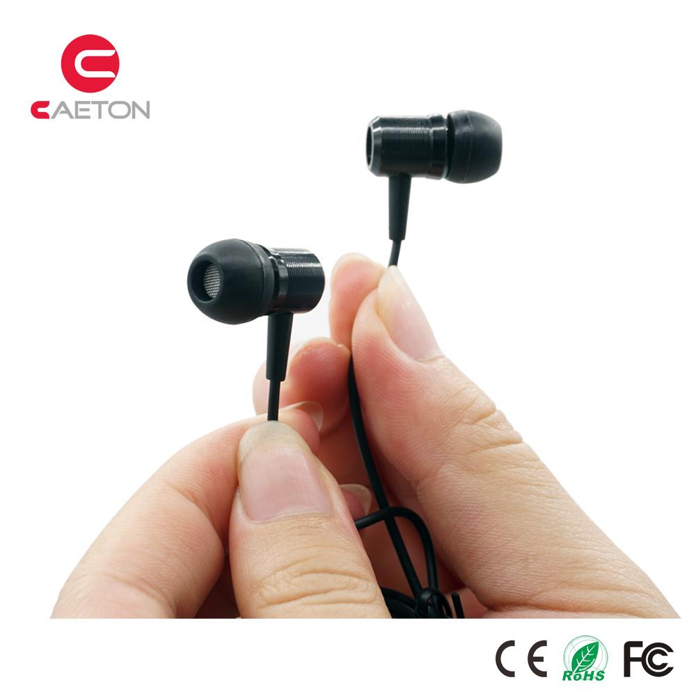 Factory Wholesale Stereo Metal Earphones